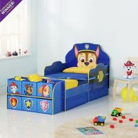 Buy Paw Patrol Cube Toddler Bed Frame - Blue at Argos.co ...