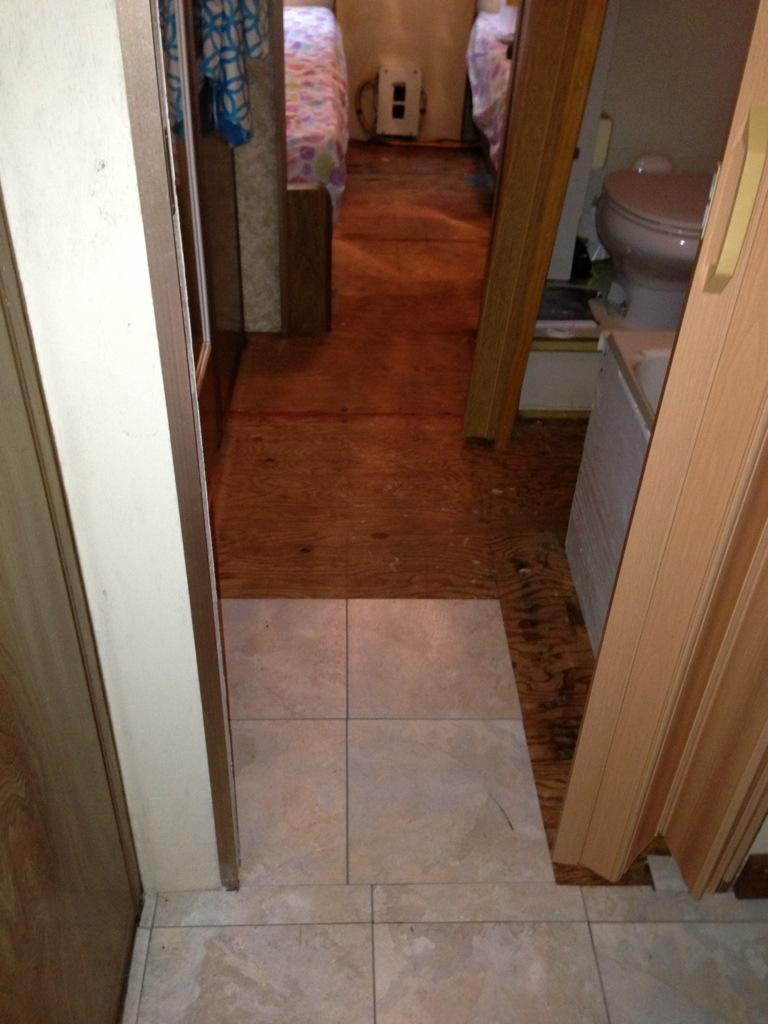 Bare Floors  New Floors  Argosy Traveling