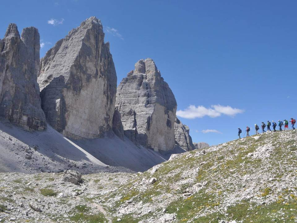 Alta Via 1, les Dolomites