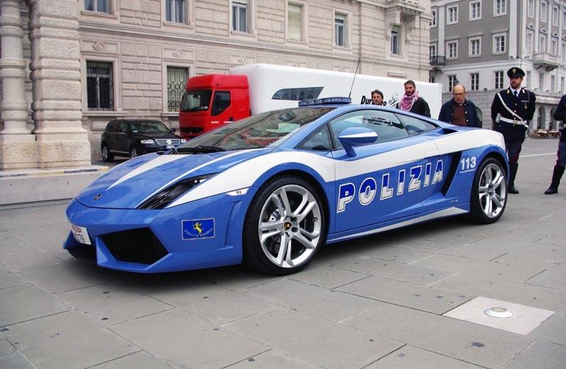lamborghini policia
