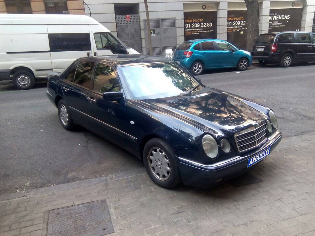 hight resolution of mercedes benz e 300 d aut 136cvde ocasi n en madrid