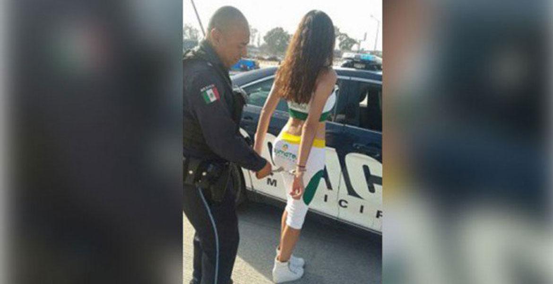 Policía de Puebla, pierde su trabajo por jugar con una edecán