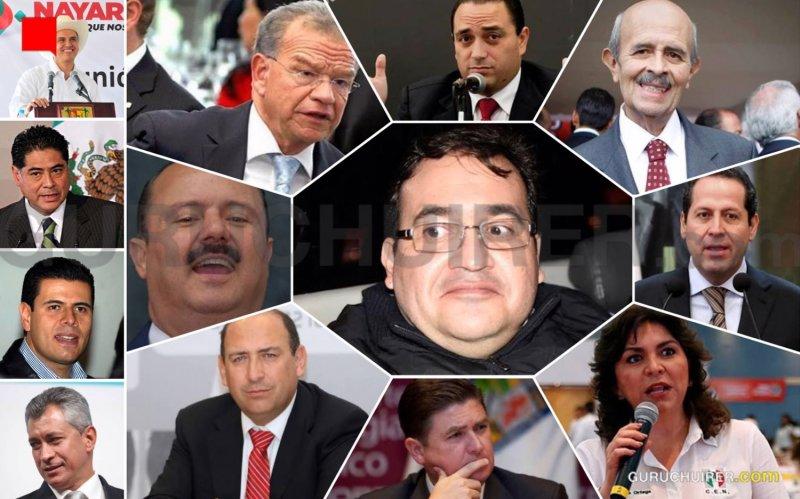 Son 22 gobernadores del PRI los acusados de desvíos con EPN; el monto en duda: 258 mil millones