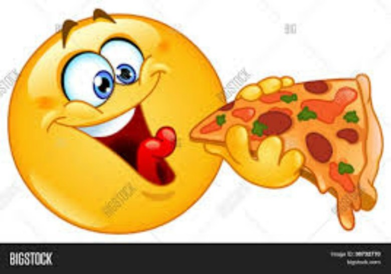 emoticon comer
