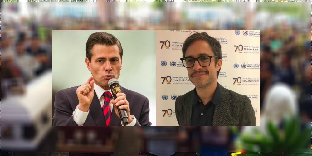 #GolpeBrutal: Gael García denuncia al gobierno de Peña ante la ONU