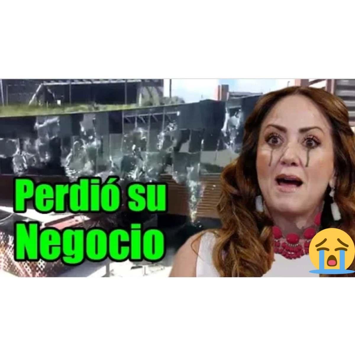 Tragedia invade a Andrea Legarreta tras derrumbe de centro comercial