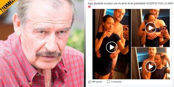Capturan nuevamente a Vicente Fox en Las Vegas con su amante de 17 años ¿Qué tal?