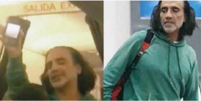 """Bajan de avión a Alejandro Fernández por encontrarse """"borracho"""" amenazando a pasajeros."""