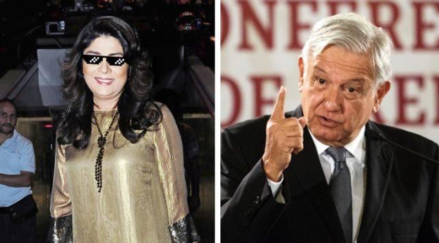 Exhiben a Victoria Ruffo por no acatar el plan de austeridad de AMLO