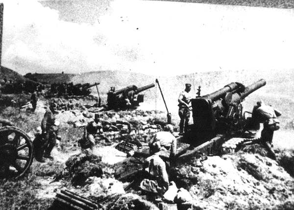 Подготовка к штурму Сапун-Горы, май 1944