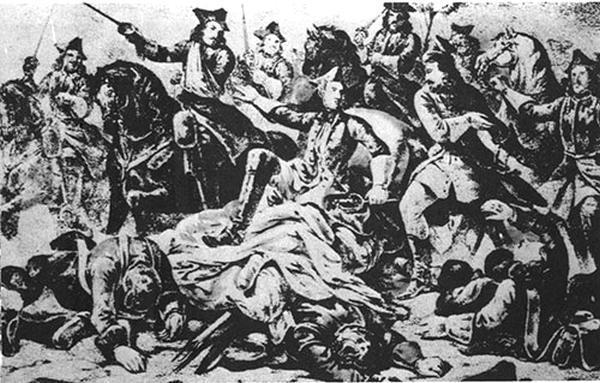 Фото:  Поход войск Карла XII на Слободскую Украину (из раздела «Пленение женщин