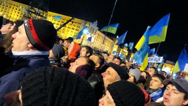 Фото:  Взгляд на Майдан из России