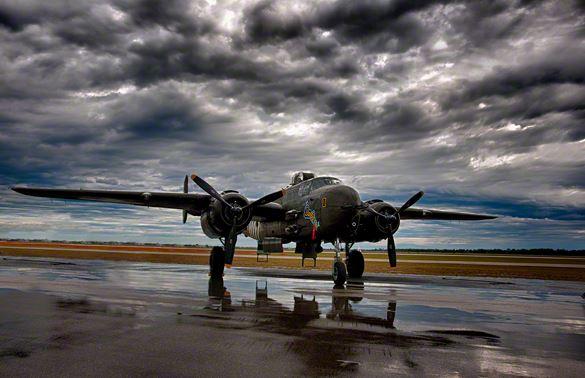 Unique B-25H