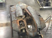 The Horten Ho 229 being restored at Steven F. Udvar-Hazy Center (Credits: Scott Bricker)