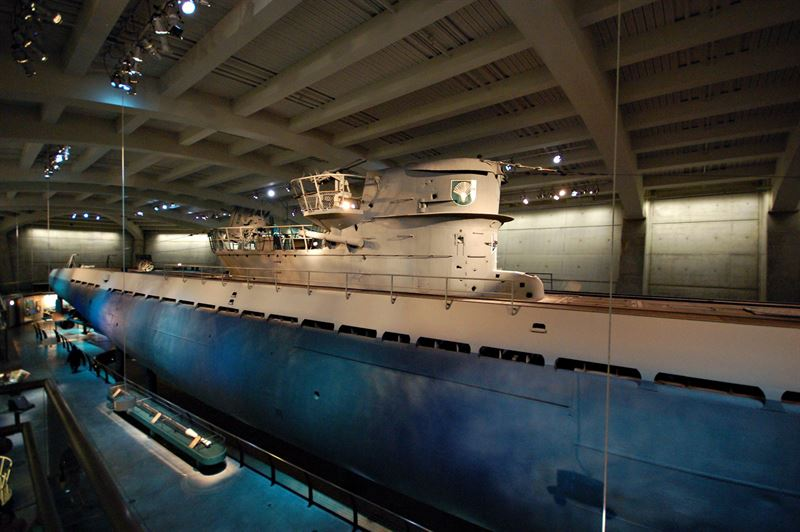 Watch German U 505 At Museum Of Science And Industry