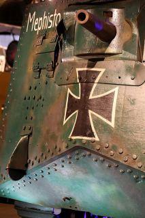 Mephisto's main gun, 57mm Maxim-Nordenfelt. (Credits: Australian War Memorial)