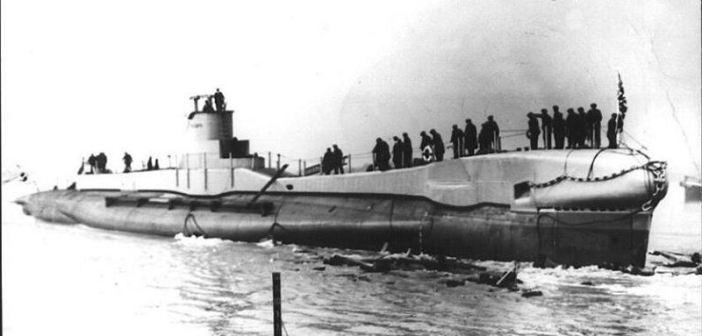 HMS Triumph (Photo provided by the Royal Navy Submarine Museum)
