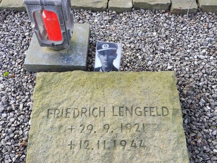 Grave of Friedrich Lengfeld in Düren-Rolsdorf