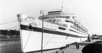 Wilhelm Gustloff as a hospital ship. Danzig, 23 September 1939