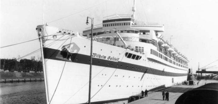 Wilhelm Gustloff as a hospital ship. Danzig, 23 September 1939