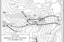 Monte La Difensa, 1943