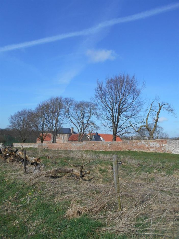The Wall surrounding Hougoumont