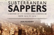 Book Subterranean Sappers by Iain McHenry