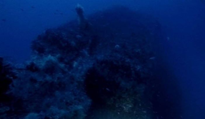 Wreckage of British Submarine HMS P311