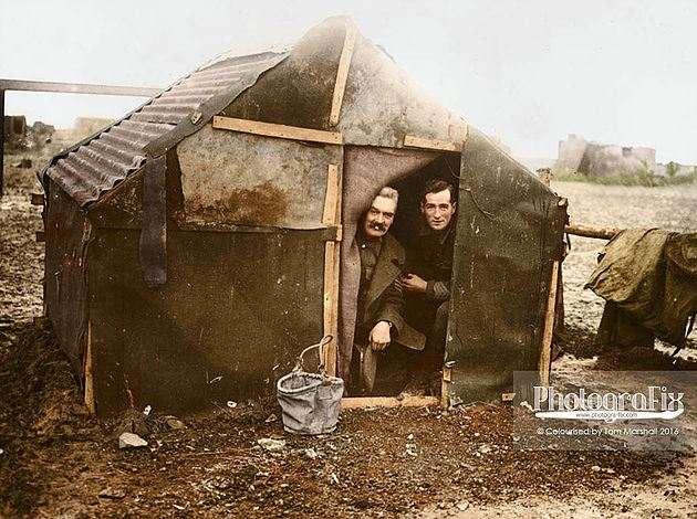 Their home on the Somme
