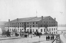 Libby Prison in 1865.