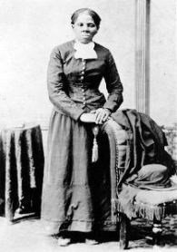 One of the most recognizable images of Harriet Tubman, after the Civil War, in 1880.