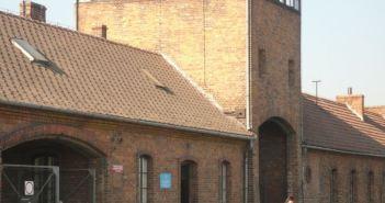Entrance to Birkenau
