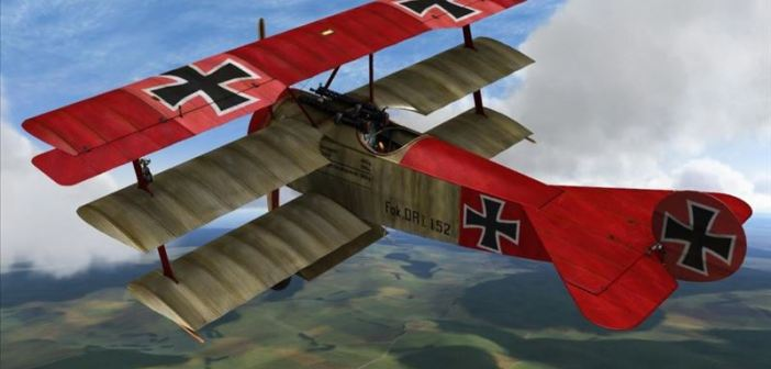 WWI Flying Ace Baron von Richtoven: Everything in The Sky Belongs to Me
