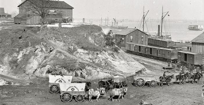 Quartermaster Corps Wagons
