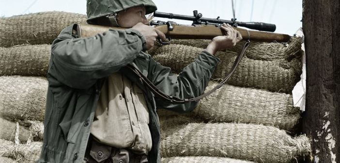 Allied Snipers in 15 Extraordinary Photographs during WWII
