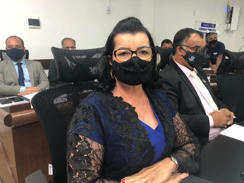 Imagem Lúcia Rocha relata preocupação com a pandemia da Covid-19