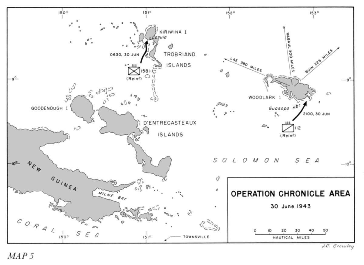 Operation Chronicle Woodlark Island
