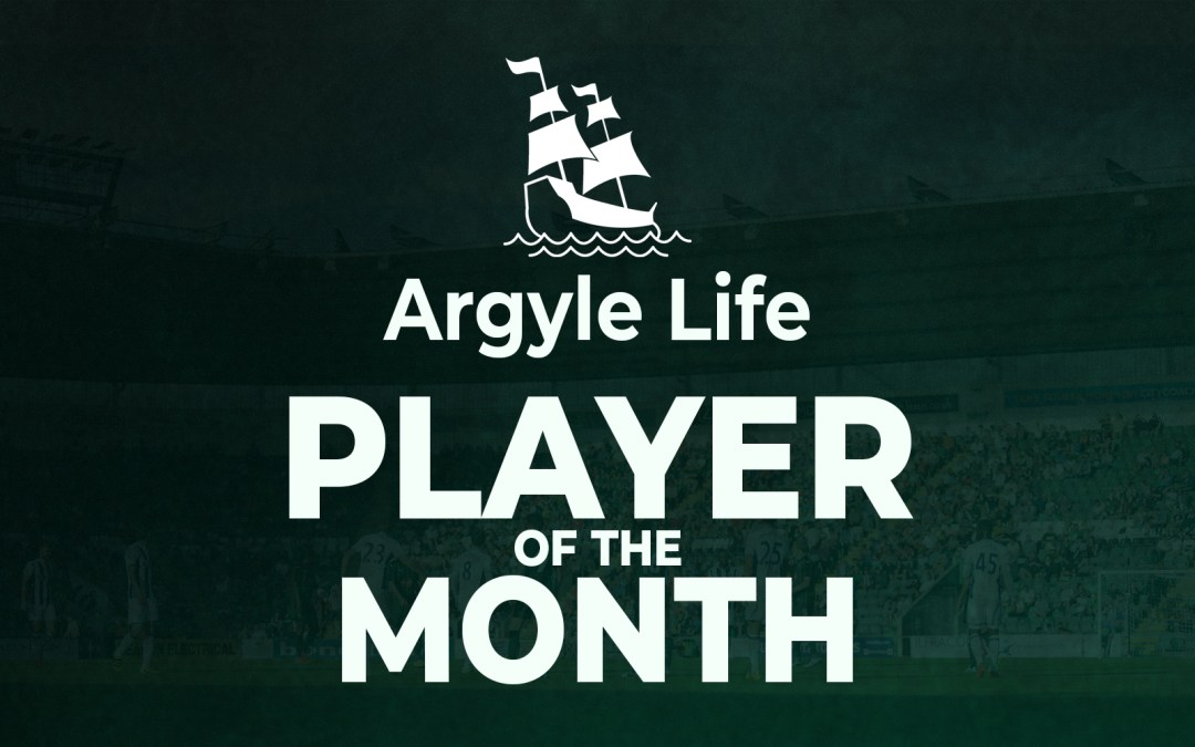 Argyle Life Player of the Month: October