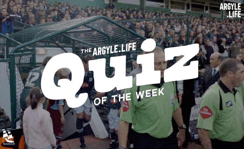 Plymouth Argyle in November 2019 Quiz