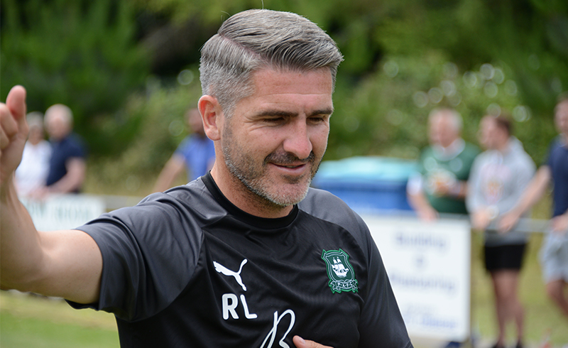 Plymouth Argyle invent new game of basketball-football