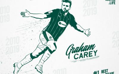 Plymouth Argyle Top 50 – 2010-2019: 1st – Graham Carey