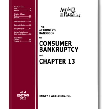 Chapter 7 Bankruptcy Handbook