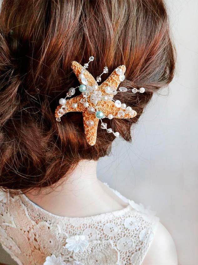 Peinados de novia para una boda en la playa  Argyor MX
