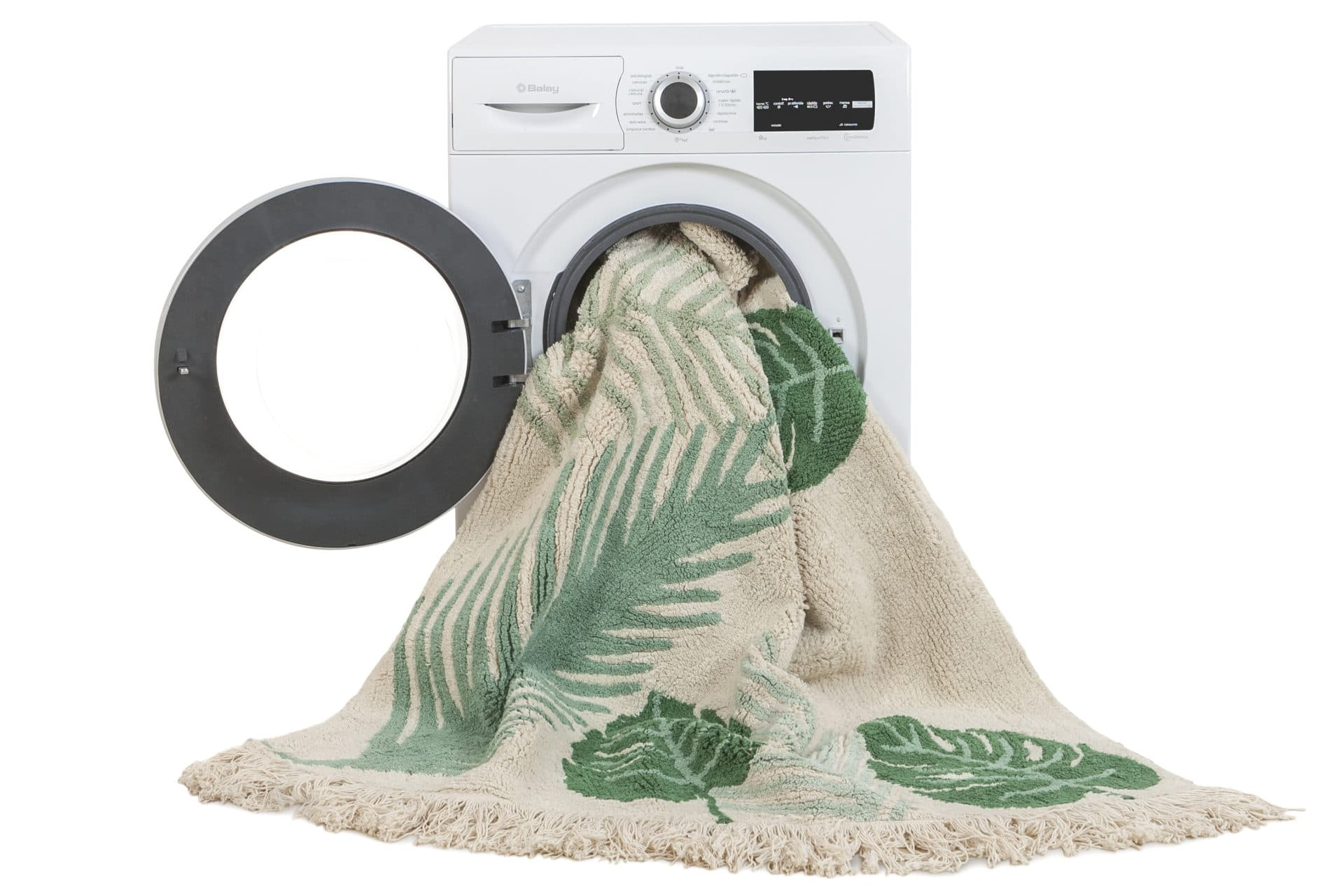 tapis lavable tropical