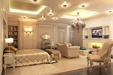bedroom casas lujosas modernas interiores decoracion salas rich bedrooms cool beige interiors places trending sateen estancias golden laced simply dinero