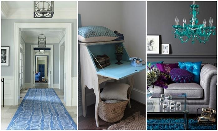 Interiors Decorating with Grey  Arhitektura