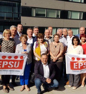 EPSU-ի տարածաշրջանային հանդիպումը Տալլինում