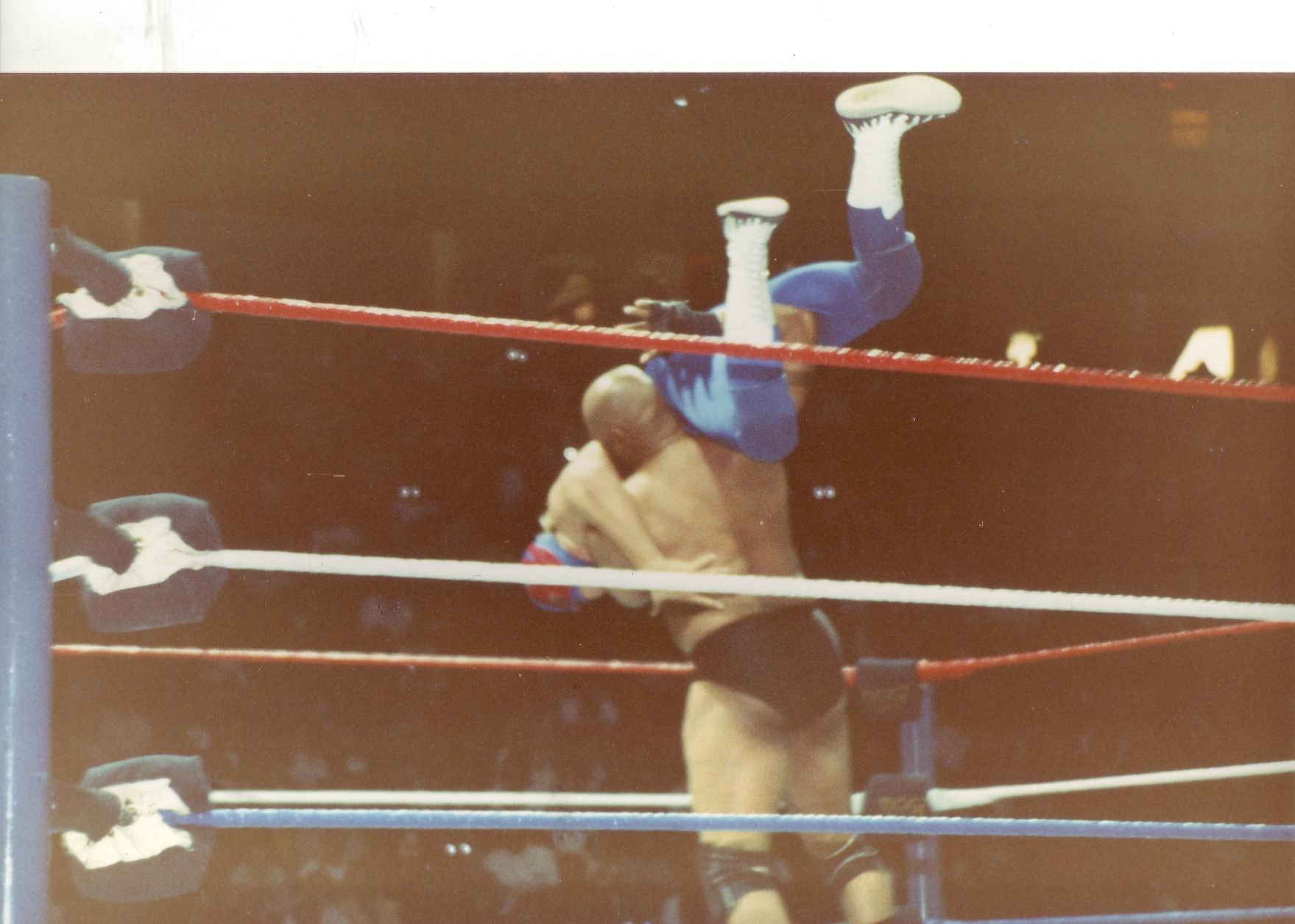 Bad News Brown v. Blue Blazer (Owen Hart)