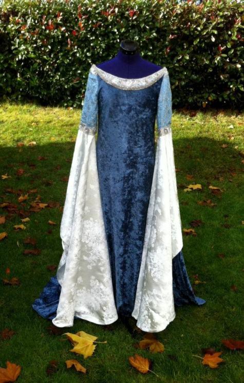 Arwen's Requiem Dress by AriaCouture