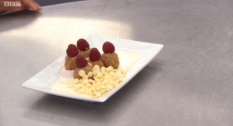 Clara's plate of dessert